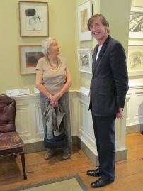 ann-dannatt-with-stefan-van-raay-viewing-the-dannatt-gift-at-pallant-house