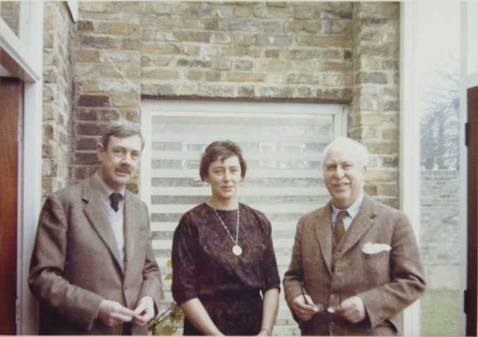 George and Ann with Arthur Bliss at their house in 2 Langton Way, 1964.JPG